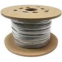 SWR GS719040050AMZZ- Cuerda de alambre de acero galvanizado, 7 x 19, 50 m, 4 mm, 1770 N/mm2