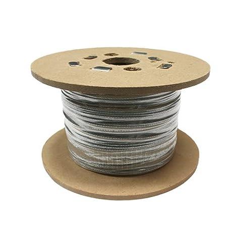 SWR GS719040050AMZ Steel Wire Rope, 7x19 Galvanised, RHOL, 50 m, 4 mm, 1770 N/mm2