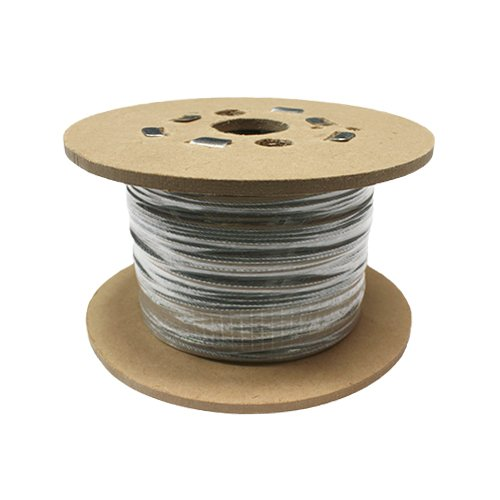 SWR GS719040050AMZ Steel Wire Rope, 7x19 Galvanised, RHOL, 50 m, 4 mm, 1770 N/mm2 Test