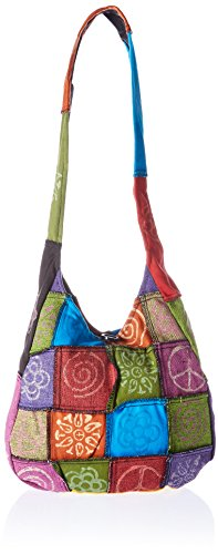 60's 70's Hippie Peace Costume Handbag - Handtaschen Fancy Dress Kostüm
