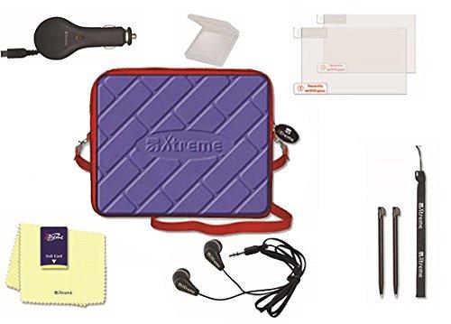 Xtreme 95481. Travel Kit 10in 1, Tasche, KFZ Ladegerät mit 2USB Ausgängen, Nintendo NDS (Ds Nintendo Kit Travel)