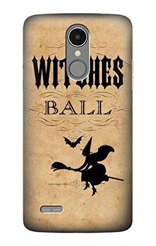Vintage Halloween The Witches Ball Hülle Schutzhülle Taschen für LG K8 (2017)