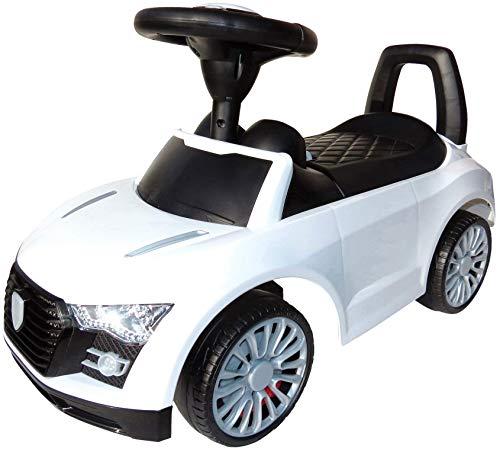*Playland Rutschauto Kinderauto Hupe Sound-Funktion Flüsterreifen Farbwahl (weiss)*