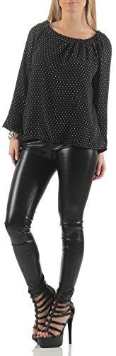 malito Bluse verschiedene Designs Tunika 17031 Damen One Size Muster 3