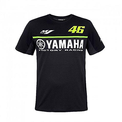 Valentino Rossi VR46 Moto GP M1 Black Line Yamaha Camiseta Oficial 2017