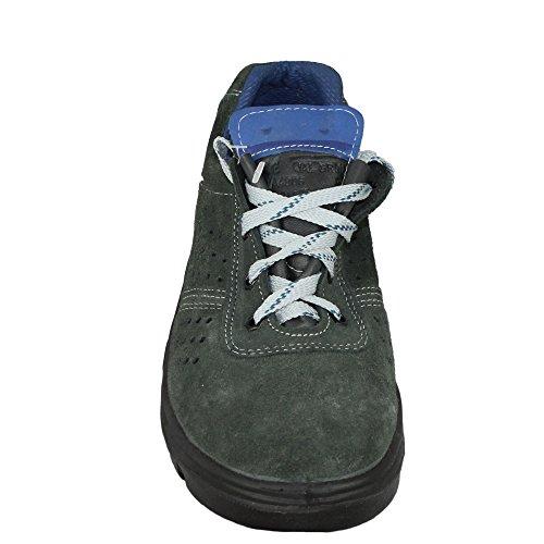 casteljaloux Group Lazio S1Chaussures de travail Chaussures de sécurité plat vert Vert - Vert