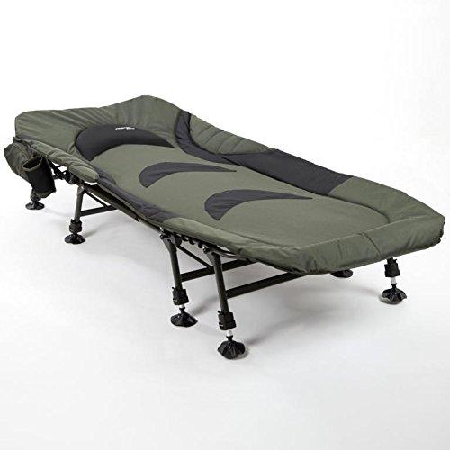 Mostal Relax Karpfenliege 8-Bein Angelliege Deluxe Gästebett