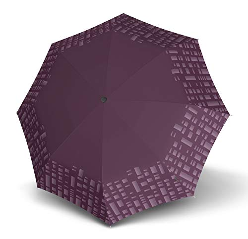 Knirps T200 Duomatic, Solid Purple Reflective (Violett), S