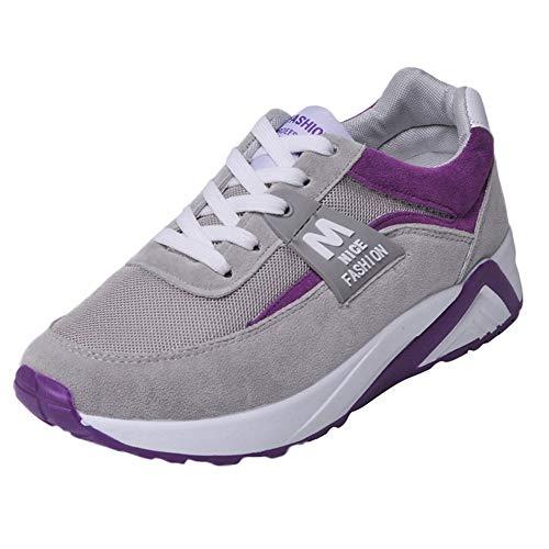 UFACE Mesh Atmungsaktive Frauen Schuhe Mode Turnschuhe Lace Up Student Laufschuhe