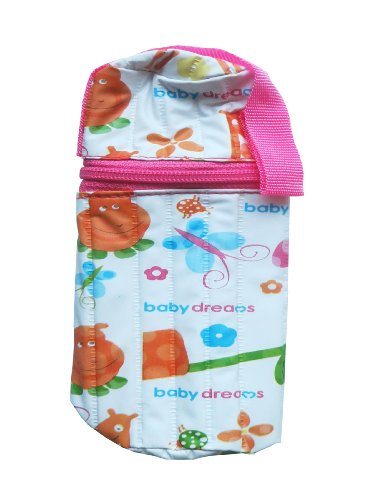 Baby Dreams Feeding Bottle cover- Cylindrical for 125ml Bottle (Pink)