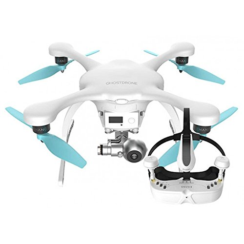 Drone ghostdrone 2.0 con gafas VR blanco (IOS Apple)