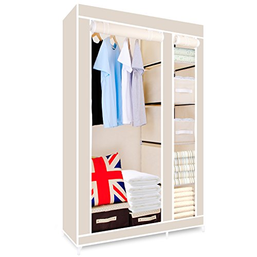 hst-mall-double-canvas-wardrobe-cupboard-clothes-storage-solution-with-hanging-rail-storage-shelves-