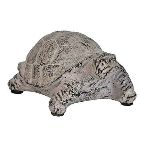 La Grande Prairie Statue Schildkröte, Zement, 14 x 9 x 7 cm -