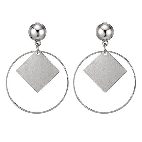 Stud Ohrringe für Frauen, Furry Fluffy Ball Stud Earrings Girls Trendy Sweet Jewelry