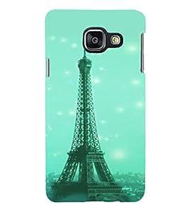 PRINTSHOPPII EIFFEL TOWER PARIS Back Case Cover for Samsung Galaxy A7 (2016) Duos
