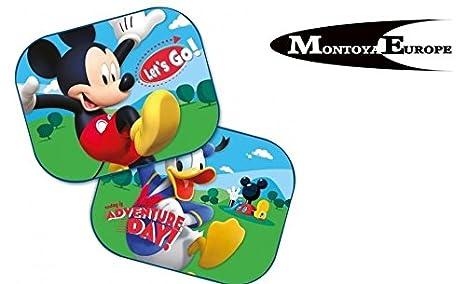 MontoyaEurope 2x Car SunShade UV Baby Children Kids Disney Frozen