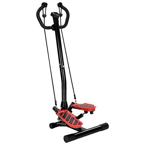 vidaXL Swing Side Stepper mit Computer Handgriff Einstellbarer Widerstand