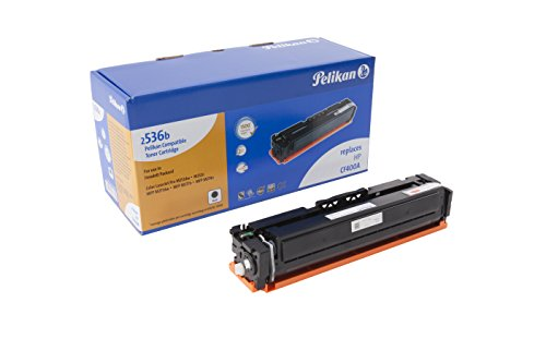 Pelikan Toner ersetzt HP CF400A (passend für Drucker HP Color LJ Pro M 252 / -270 / -274 / -277)