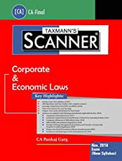 Scanner-Corporate & Economic Laws (CA-Final)(November 2018 Exam-New Syllabus) (July 2018 Edition)