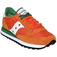 Saucony Scarpe Sneakers Uomo camoscio Nuove Jazz Original Arancio d556b95d5ce