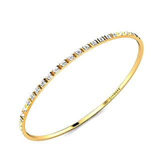 Candere By Kalyan Jewellers Contemporary Collection 22k Yellow Gold Delissa Bangle