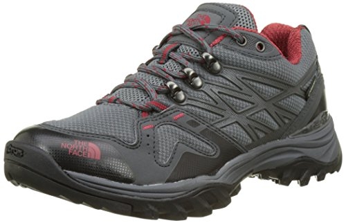 The North Face Herren Hedgehog Fastpack GTX (EU) Trekking-& Wanderhalbschuhe, Grau (Zinc Grey/Rudy Red), 46 EU North Face Sport Shoes