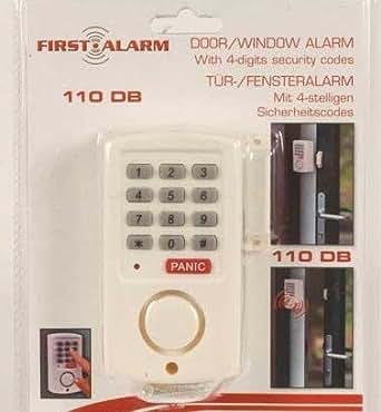 clavier alarme maison a code a contacteur de porte ou de fenetre