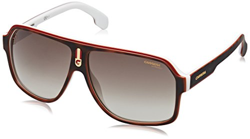 Carrera Gradient Square Unisex Sunglasses - (CARRERA 1001/S C9K 62HA|62|Brown Color)