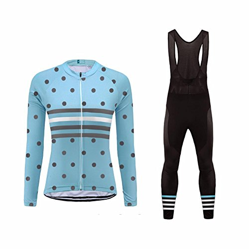Uglyfrog 2018 Damen N48 Neue Männer Radfahren Langarm Radfahren Trikots & Shirts Road Bike MTB Top + Lange Hose mit Gel PAD Langarm Winter with Fleece Bike Set (Fleece Set Langarm-hose)