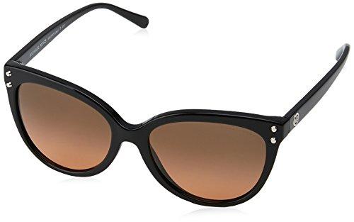 Michael Kors Damen JAN 317711 55 Sonnenbrille, Black/Gradient,