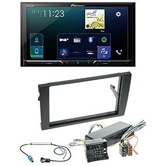 Pioneer-SPH-DA230DAB-MP3-Bluetooth-USB-2DIN-DAB-Autoradio-fr-Audi-A4-04-08-B7-Bose-Aktivsystem-Most-Quadlock