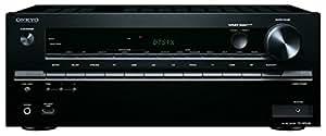 Onkyo TX-NR646 Sintoamplificatore Network 7.2, 7 x 160 W, 1 Porta USB, Nero