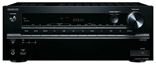 Onkyo TX-NR646 (B) 7,2-Kanal Netzwerk-AV-Receiver (DTS: X-fähig, Dolby Atmos, 160 Watt, WiFi, Bluetooth, AirPlay, Musikdienste, DLNA) - Av-receiver Netzwerk