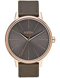 Nixon Unisex Watch Kensington Analogue Quartz Leather A108 – 2214 00