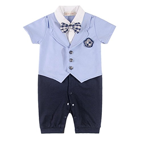 Laixing LT09 À la Mode Baby Boys Formal Wear Suit Toddler Gentleman Jumpsuit Clothes