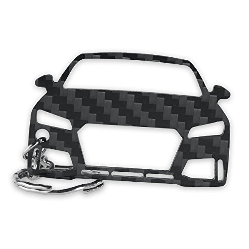 Preisvergleich Produktbild Audi Schlüssel-Anhänger / Echtes Carbon / Geschenk-Idee / Tuning / Audi TT RS FV