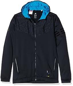 Adidas messi pull à capuche pour garçon 5 ans Bleu - Bleu