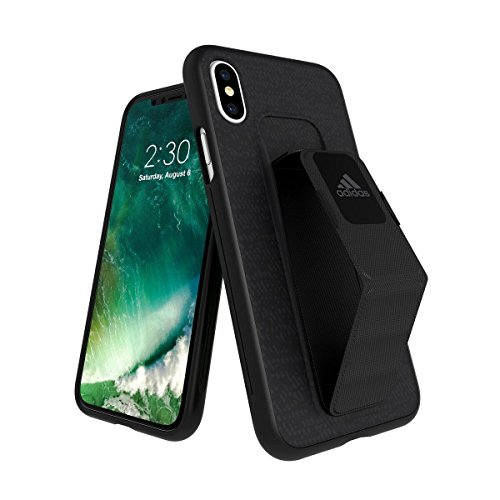 adidas Performance Grip Case Handyhülle für Apple iPhone X - Schwarz Black (Store Adidas)