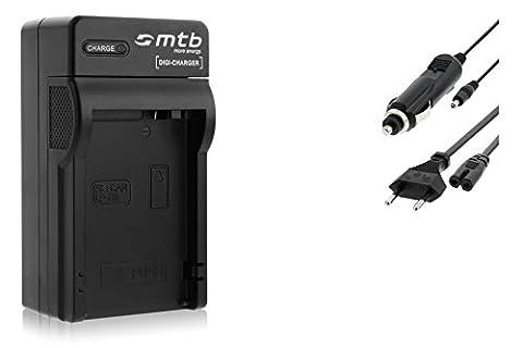 Chargeur (Auto/Secteur) pour Canon LP-E8 / EOS 550D, 600D, 650D,