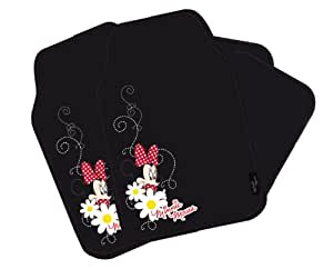 Disney Mi Inn 800 Car Mat Set 4 Piece Minnie Mouse Amazon