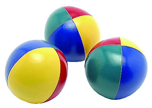 SAHNI SPORTS Non-Woven-Fabric Juggling Ball, Set of 3, Multi-Color  available at amazon for Rs.389