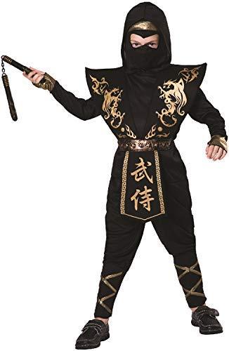 Fancy Me Schwarz für Mädchen, aus japanischem Ninja-Gold, -