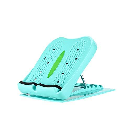 Househome Tragbare Slant Board-Verstellbare Steigung Board-Leg Übung Knöchelfuß Wade Bahre-Balancing Stretching Board Sprunggelenk-Therapie (Stretching-board)