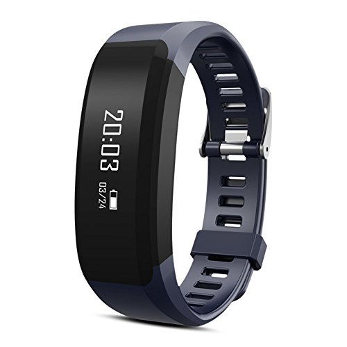 Fitness Band, huiheng H28 Bluetooth 4.0 Smart Armband Smart Band Herzfrequenz Monitor Fitness Tracker für Android iOS Smartphone