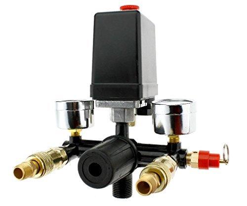 Druckregler mit Luftkompressor Schalter 131MM Luftregler Druckschalter