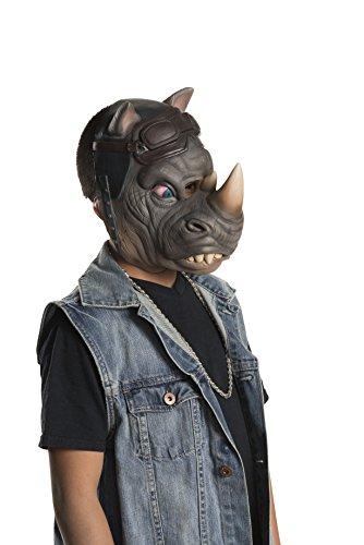 Teenage Mutant Ninja Turtles 2 3/4 Rocksteady Costume Mask Child One Size