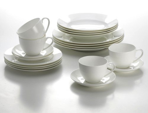 Geschirr-Set CASHMERE 20tlg / Maxwell & Williams / Tafelservice / Kaffeeservice / Porzellanservice