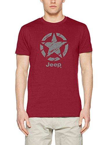 jeep-camiseta-manga-corta-o100664-burdeos-gris-claro-xl