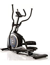 MAXXUS CROSSTRAINER CX 6.1 - Ellipsentrainer, kostenlosem Versand. flacher, elliptischer Bewegungsablauf mit großer Schrittlänge für einen gesunden Lauf. Trainingsprogramme, HRC-Programme, Smartphone-Tablet-Halterung, elektr. gesteuerte Magnetbremse, robuste Konstruktion