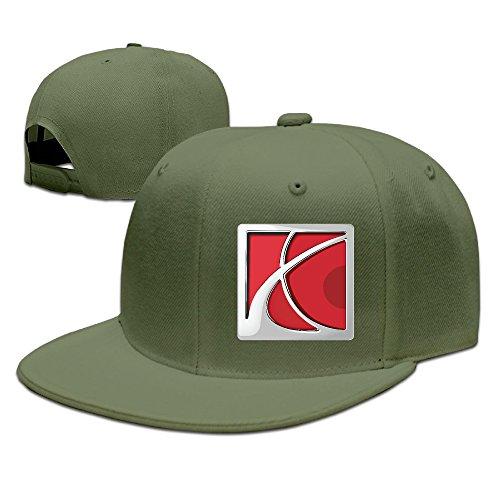 t-ukco-saturn-logo-unisex-fashion-adjustable-baseball-cap-hat-forestgreen